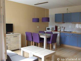Duinzand, appartement voor 5 personen in het dorp bij het bos