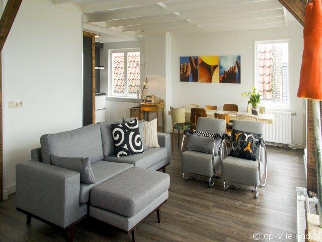 Puur Zee, appartement voor 4 personen in de Dorpsstraat van Vlieland