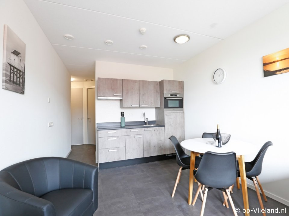 Twest Endt 2, 4 persoons appartement aan het einde van het dorp