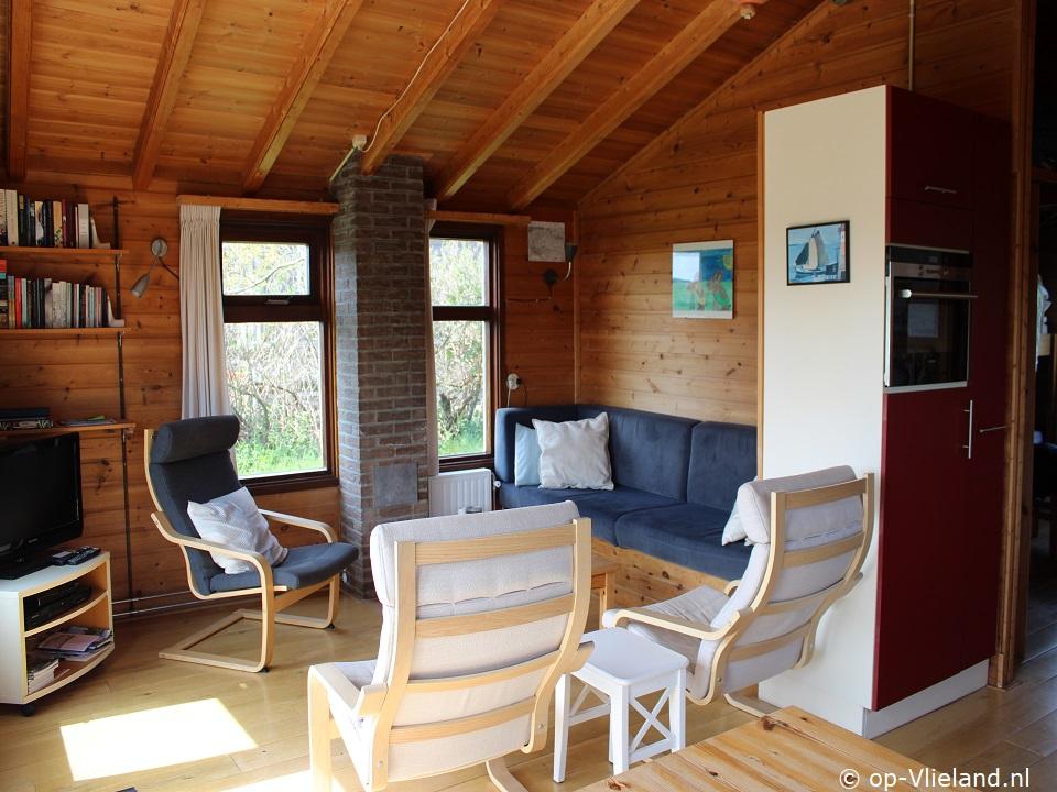 Ammy de Kaap, vakantiehuis voor 5 personen in de duinen