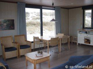 de Bark, vakantiehuis voor 6 personen in de duinen bij het strand