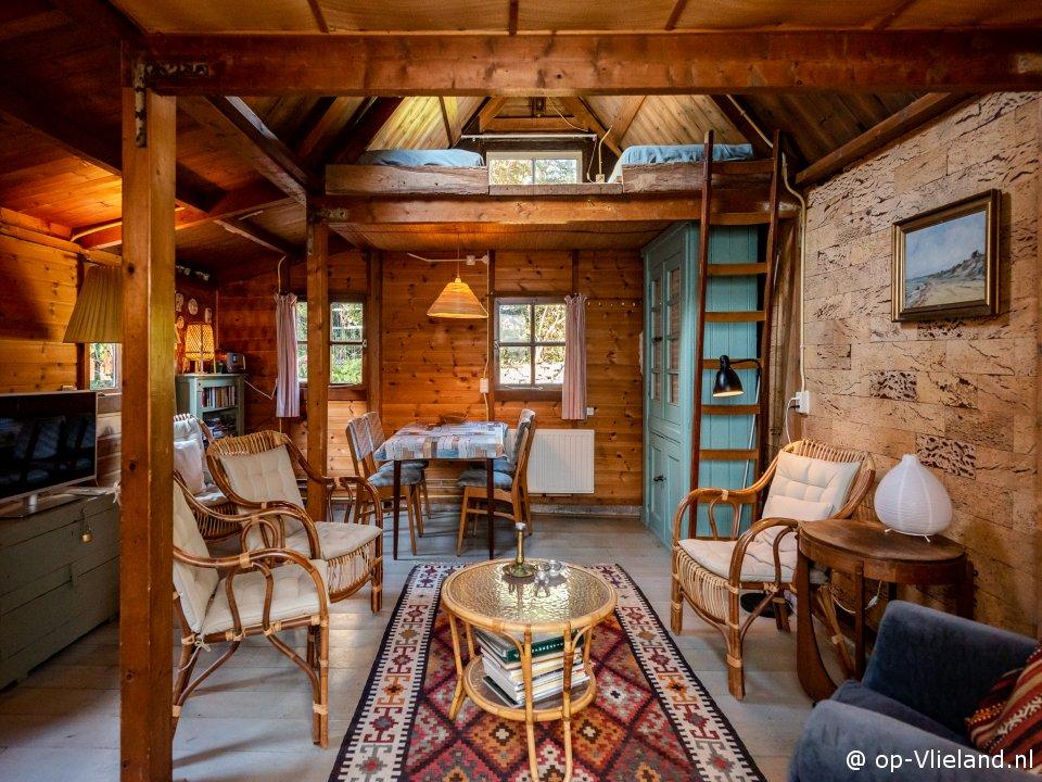 , vakantiehuis voor 4 personen achter de dorpsstraat