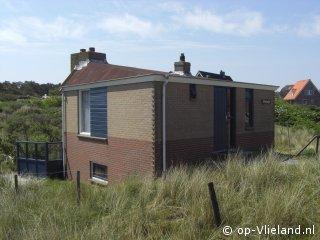 Elfenbankje, vakantiehuis voor 4 personen in de duinen bij het strand