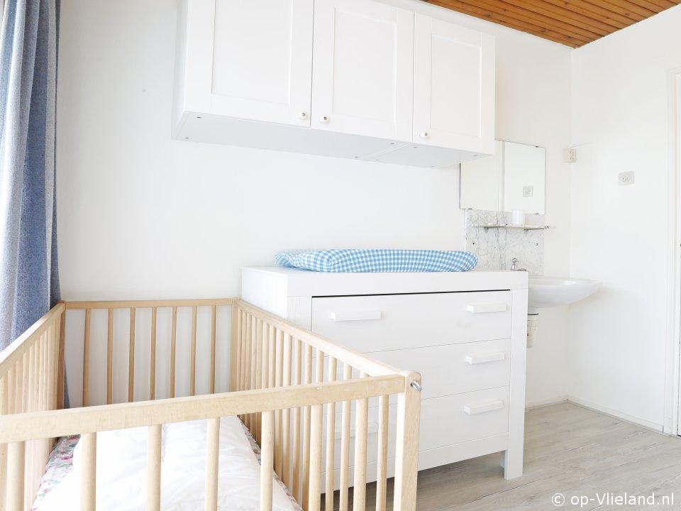 Houtsnip, vakantiehuis voor 4 personen in het bosgedeelte van het dorp
