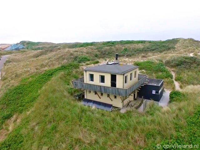 de Hut, vakantiehuis voor 4 personen in de duinen bij het strand