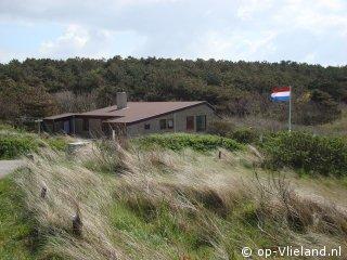 Klaverblad, 4 persoons huis (en kind) in de duinen aan de  bosrand