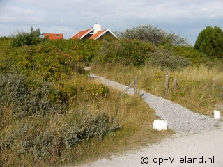 Klein Marjenburg, 5 persoons vakantiehuis in de duinen