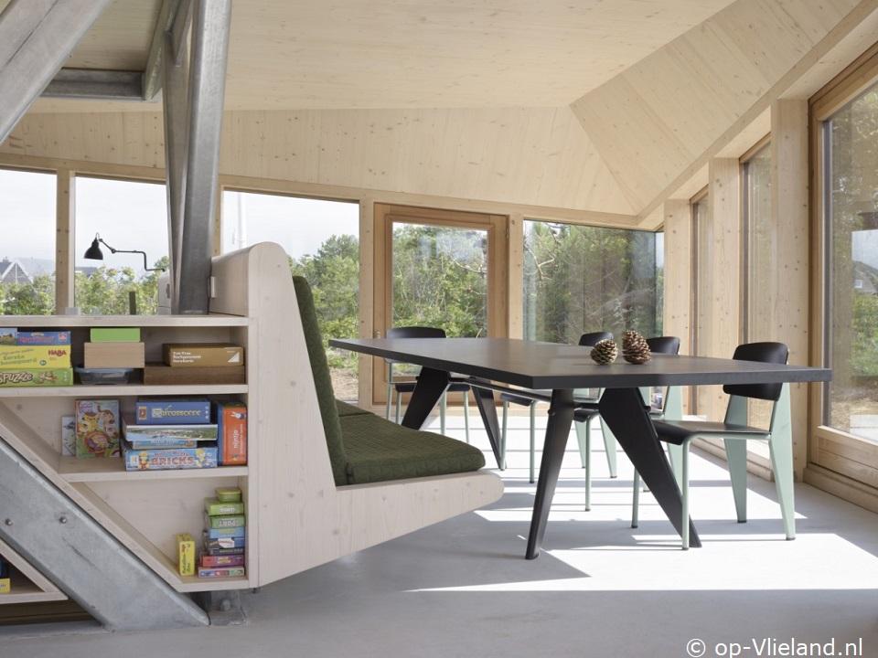 `t Kulkje, design vakantiehuis voor 6 personen in de duinen bij het strand