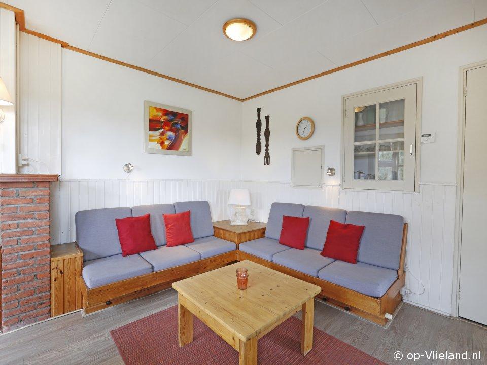 Kwikstaart, vakantiehuis voor 6 personen in de duinen bij het strand