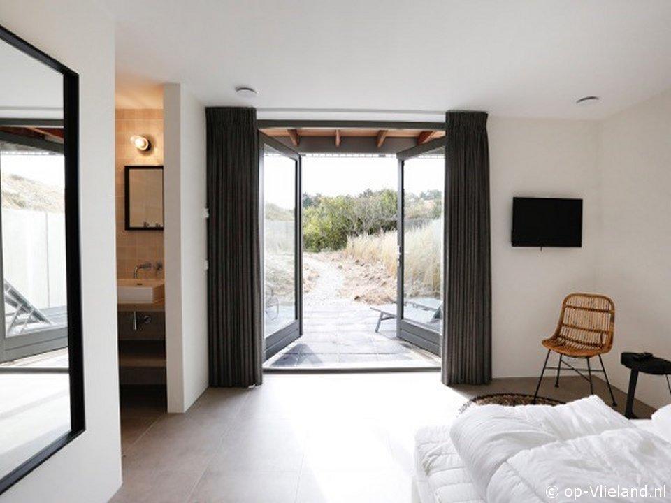 Mierennest, vakantiehuis voor 12 personen in de duinen bij het strand