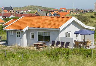 Noorderhaven, vakantiehuis voor 6 personen in de duinen bij het strand