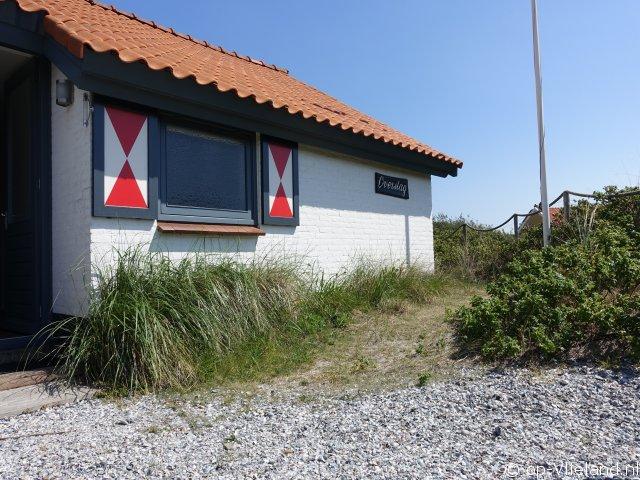 Overstag, vakantiehuis voor 4 personen in de duinen bij het strand