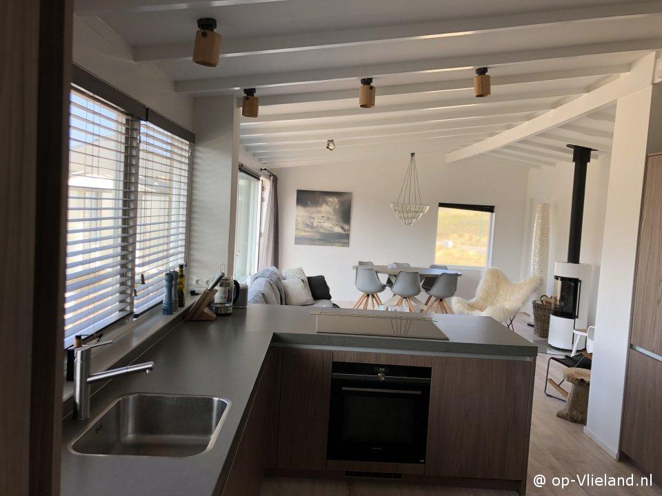 Rim, vakantiehuis voor 6 personen in de duinen van het Vliepark