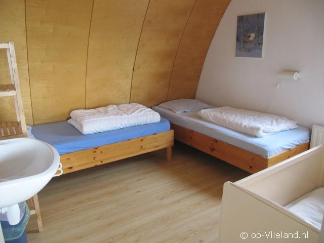 de Steltloper, vakantiehuis voor 2-5 personen in de duinen bij het strand