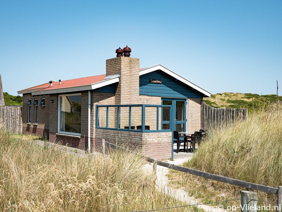 Turkse Tortel, vakantiehuis voor 5 personen in de duinen bij het strand