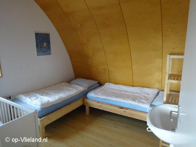 de Wadloper, vakantiehuis voor 2-6 personen in de duinen bij het strand