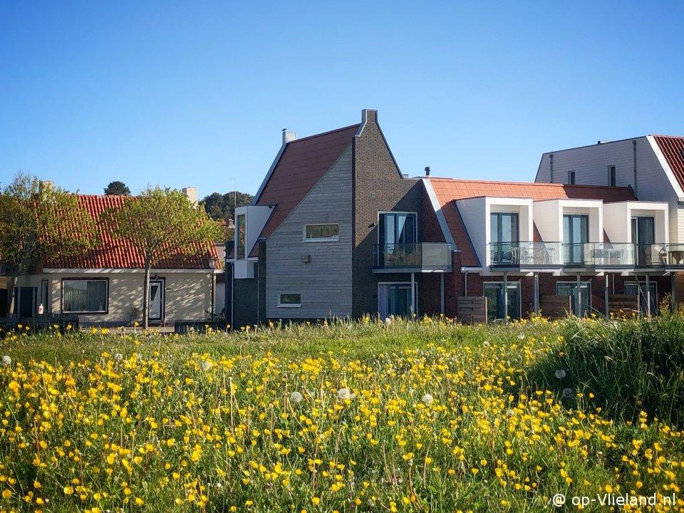 Westeynde, 4 persoons vakantiehuis aan het einde van de Dorpsstraat