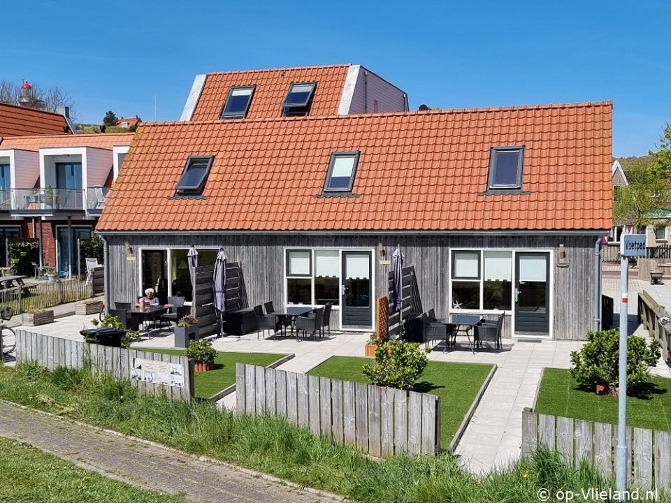 Tuinhuisje, 3 vakantiehuizen voor 2p aan het einde van het dorp Vlieland