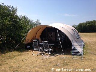 Boog tent.